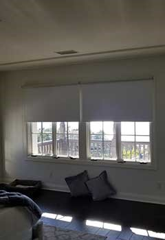 Motorized Blackout Blinds For Fremont Bedroom Windows